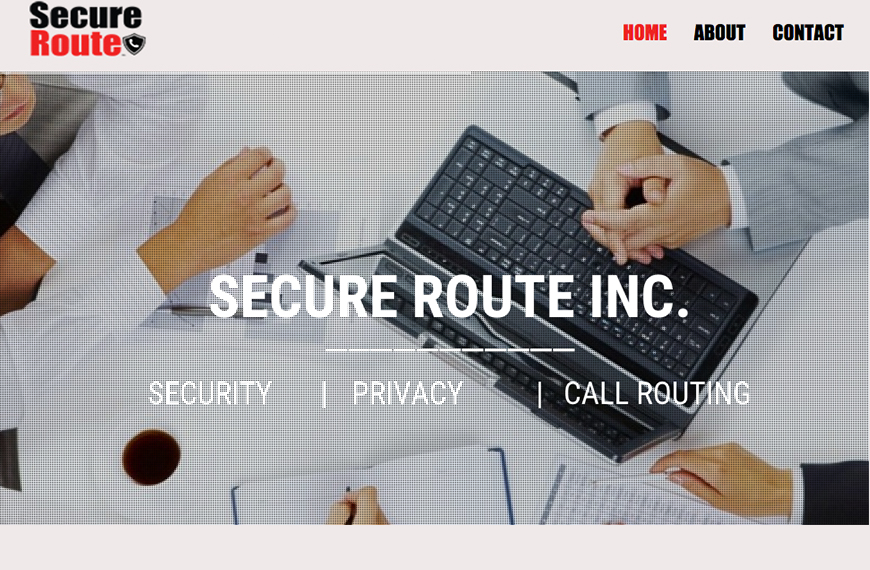 Secure Route Website